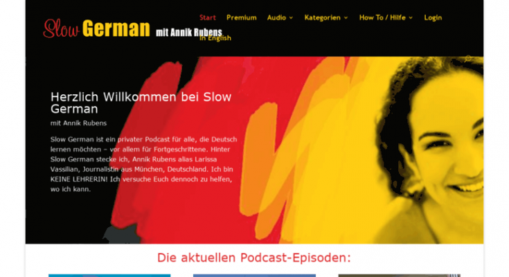 Beste Duitse blogs slow german