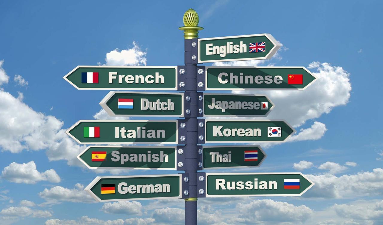 vreemde talen